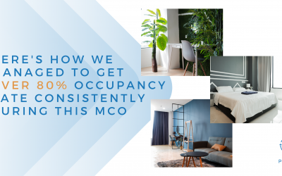 Here's how we managed to get over 80% occupancy rate consistently during this MCO